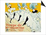 La Troupe De Mlle Eglantine  1896