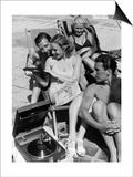 Bathers are Listening to Music at the Strandbad Wannsee  1938