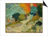 Washerwomen in Arles (Laveuses A Arle)  1888