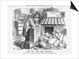 The Pig and the Peasant  1863