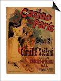 Casino De Paris; Camille Stefani
