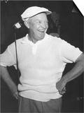 President Dwight Eisenhower Smiling While Golfing  Ca 1954