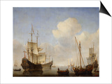The Dutch Squadron at the West African Coast  1660s