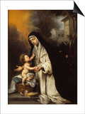 Saint Rose of Lima  1670
