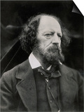 Poet Alfred Tennyson
