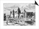 Josselin Chateau  France  1898