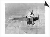 Man Playes Golf at a Plane  1925