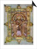 Portrait of St Matthew  800 Ad