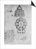 Designs for a Central Church  C1488