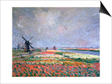 Tulip Fields Near Leiden  1886