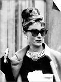 Breakfast at Tiffany's  Audrey Hepburn Eating Between Scenes on Set  1961