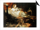 The Death of Cleopatra  1875