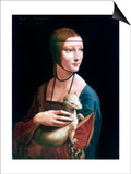 Portrait of Cecilia Gallerani  Lady with an Ermine  C1490