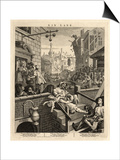 Gin Lane (Beer Street and Gin Lane)  1751