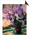Lilacs in a Window  C1880