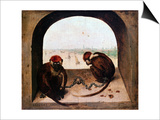 Two Monkeys  1562