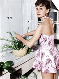 Audrey Hepburn Creates a Flower Arrangement  Ca Early 1950s