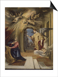 The Annunciation  1570-1572