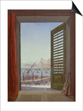 Balcony Room with a View of the Bay of Naples  C 1829