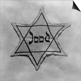 Yellow and Black Star Which the Jews Were Required to Wear in Occupied Holland During World War 2