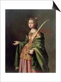 Saint Elizabeth of Thuringia  Ca 1637-1640
