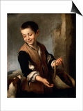 Boy with a Dog  C1650-C1660