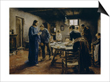 The Mealtime Prayer  1885