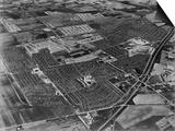 Aerial View of Levittown Housing Development on Long Island  New York  1954