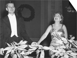 Margaret Truman Acknowledges the Audience Applause at Carnegie Hall