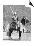 Royal Bodyguard in Ancient Armour  Northern Nigeria  1936