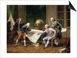 Louis XVI Gives Instructions to Captain La Perouse  29 June 1785