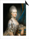 Portrait of Archduchess Maria Antonia of Austria (1755-179)