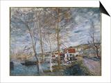 Flood at Moret (Inondation A More)  1879