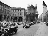 Fiats at a Rally  Turin  Italy  C1960