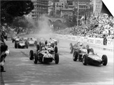 The Start of the Monaco Grand Prix  Monte Carlo  1961