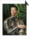 Portrait of Grand Duke of Tuscany Cosimo I De' Medici (1519-157) in Armour
