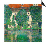 Schloss Kammer on Lake Attersee III  1910