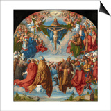 The Adoration of the Trinity (Landauer Altarpiece)  1511