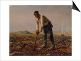Man with a Hoe  1860-1861