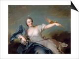Marie-Anne De Nesle  Marquise De La Tournelle  Duchesse De Chateauroux (1717-174)