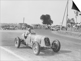 Etancelin in His Maserati at the Dieppe Grand Prix  France  22 July 1934