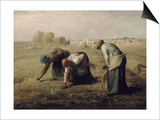 The Gleaners  1857