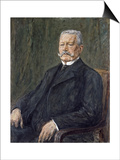 Portrait of Paul Von Hindenburg