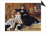 Madame Georges Charpentier and Her Children  Georgette-Berthe and Paul-Emile-Charles