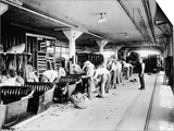 Making the Bodies for Model T Fords  1915