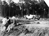 Mercedes-Benz Ss in Action at the Le Mans 24 Hours  France  1930