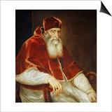 Portrait of Pope Paul III Farnese  1543