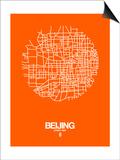 Beijing Street Map Orange