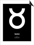 Taurus Zodiac Sign White