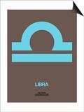 Libra Zodiac Sign Blue